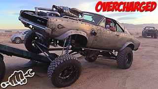 Project OVERCHARGED - WelderUp Diesel Rat Rod Dodge Charger