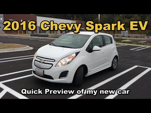 2016 Chevy Spark EV Pre Review