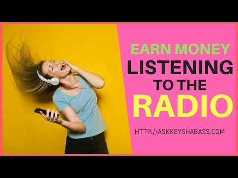 Earn Money Listening To The Radio