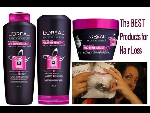 The BEST Drugstore Product for Hair Loss/Hair Fall! 2 month Experiment WITH PHOTOS! (L'Oréal Paris)