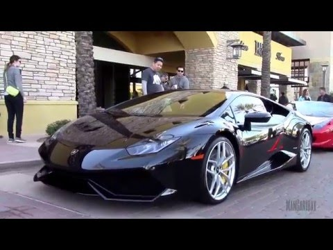 Black 2016 Lamborghini Huracan LP 610-4