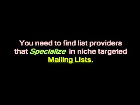 Find Mailing Lists Companies The Easy Way!