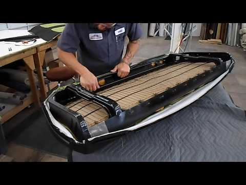 How to Upholster a Bench Seat- Automotive Pt. 2