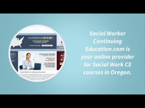 Social Work Continuing Education in Oregon | 718-608-6000