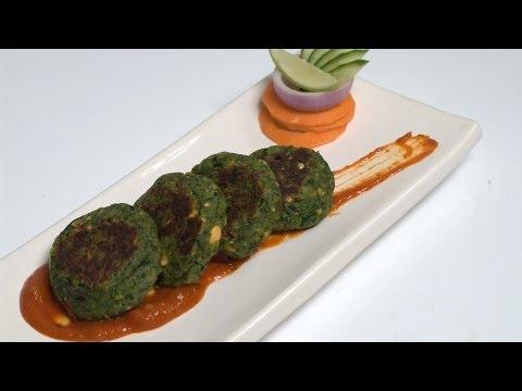 Hara Bhara Kabab - Green Veg Kebabs and Tikka - By VahChef @ VahRehVah.com