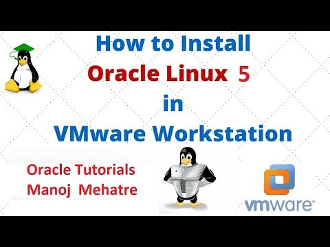 Oracle Enterprise Linux 5 Installation on VMware