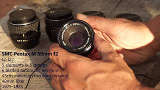 5 Pentax 50mm Lenses Tested; The Ultimate Pentax 50mm Lens Comparison Review.