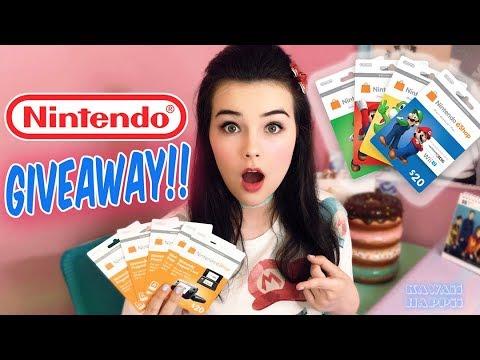 Nintendo eShop Card Giveaway!