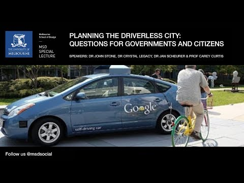 Planning the driverless city: Questions for governments and citizens