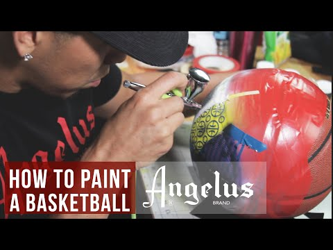 Custom Basketball | Inspired 2018 All Star Edition | Angelus Paints