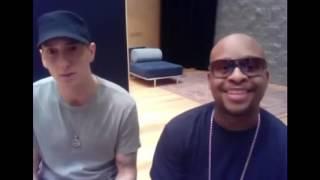 Eminem laughs at Mariah Carey