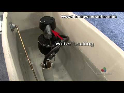 How to Fix a Toilet - Diagnostics - Internal Leaking