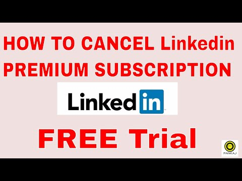 How to cancel Linkedin Premium Subscription || Free Trial