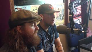 The Brothers Osborne in studio with WGLR 4.1.15 part 1