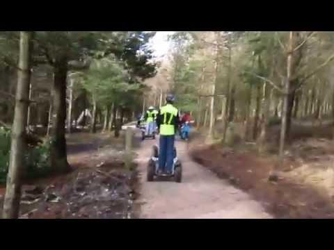 Go Segway Halden Forest fpv