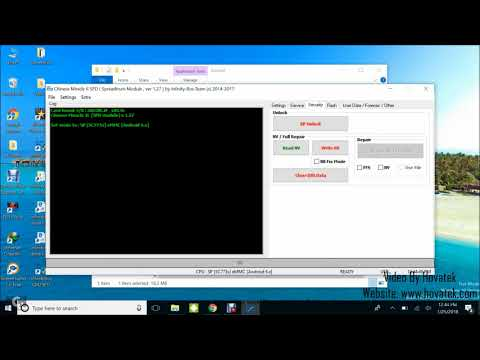 [Hovatek] How to bypass Factory Reset Protection on a Spreadtrum Android using Infinity CM2 SPD