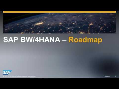 SAP BW/4HANA Overview & Roadmap