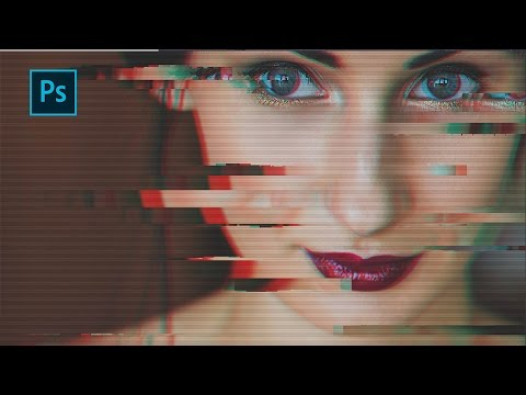 How to Create  Glitch Effect | Photoshop Tutorial