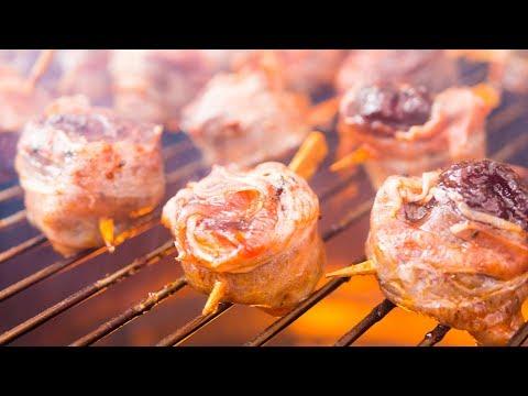 Bacon BBQ Rolls