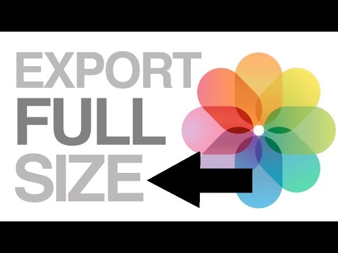 How to Properly Export Full Size , Max quality Pictures images from PHOTOS app Mac