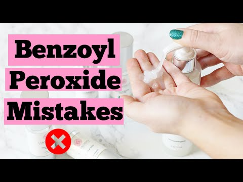 How to Use Benzoyl Peroxide for Acne Treatment | How To Get Clear Skin Fast | Acne Remedy