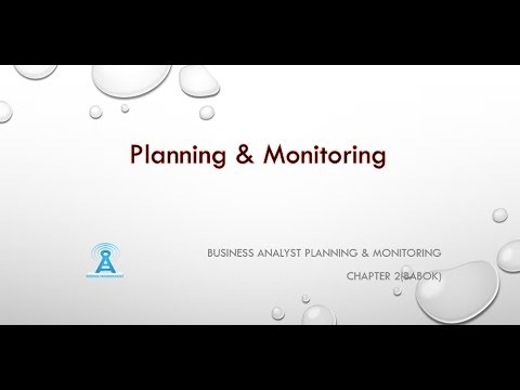Business Analyst Training-Planning and Monitoring by ELearningLine @848-200-0448