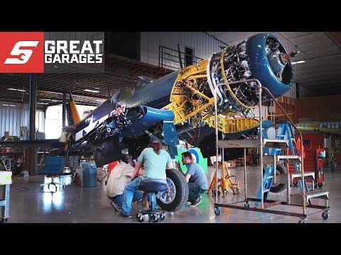 Ezell Aviation Warbird Rebuilders | Snap-on Great Garages™
