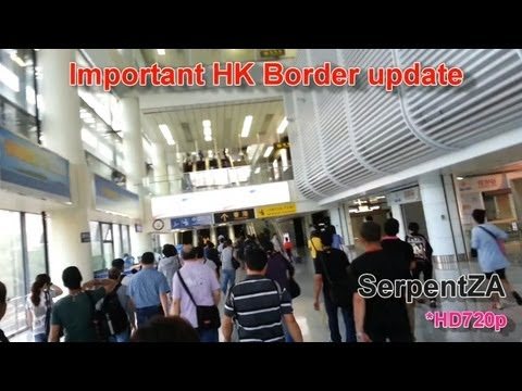 Important HK Border Update