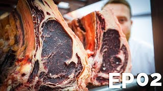 DRY AGED 400 DAY OLD BEEF