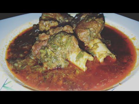 Hyderabadi Palak Gosht / Spinach Mutton