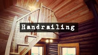 How To Build A Log Cabin Interior Handrails