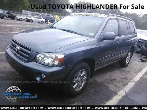 Used Toyota Highlander for Sale in USA, Shipping to Nigeria
