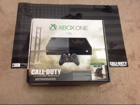 XBOX ONE BUNDLE - Call of Duty: Advance Warfare Limited Edition Unboxing