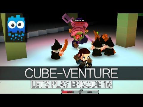 Cube-Venture Episode 16 : Cube World Alpha Let's Play! - Let's Go Back!