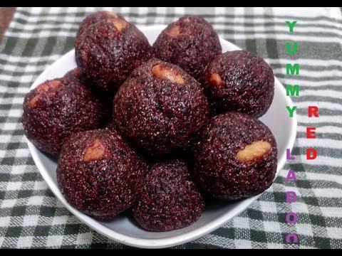 yummy red ladoo (Malayalam)