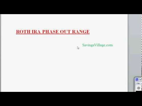 Roth IRA Contribution Limits Phase Out Range Explained