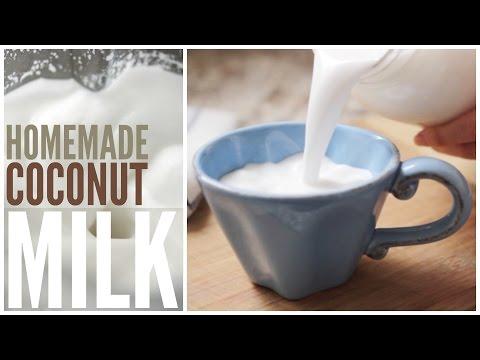 How to Make Homemade Coconut Milk