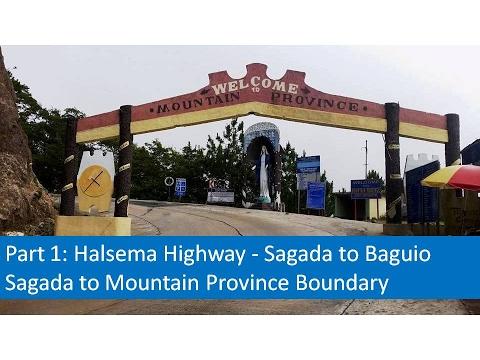 Part 1   Halsema Highway - Sagada to Baguio