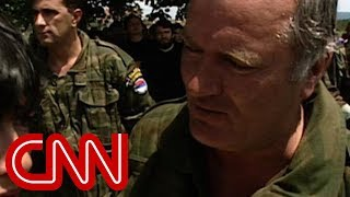 Christiane Amanpour meets Ratko Mladic - the