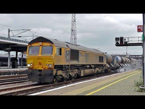 Trains at Ashford International 15/10/14