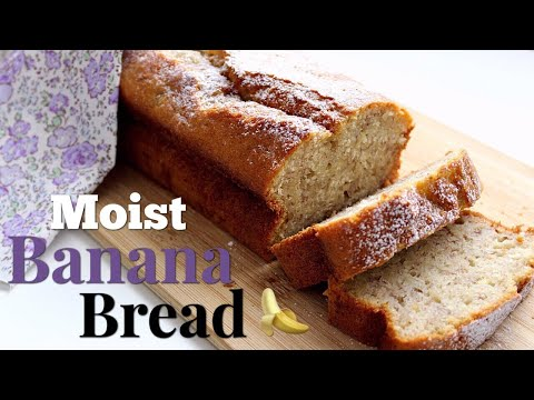 How To Make The Ultimate BANANA BREAD Recipe - EASY and MOIST!   Daniela's Home Cooking