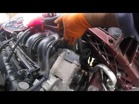 как поменять ремень грм форд фокус