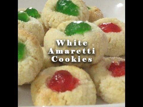 DELICIOUS White Amaretti Cookies!!