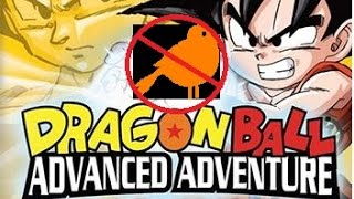 Dragon Ball Advanced- Part 1  I HATE THESE BIRDS!