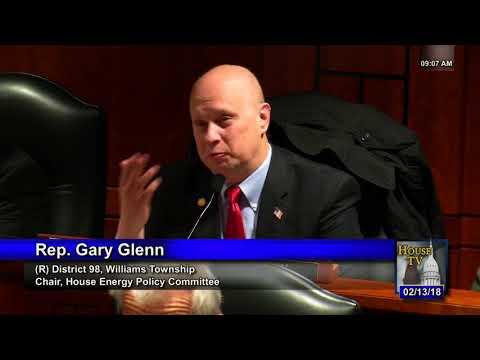 2/13/18 Michigan House Energy Policy  Committee Meeting  -Increasing Bills 4 Energy Customers