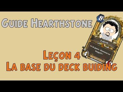 Leçon 4 La base du deck buiding Hearthstone Guide FR