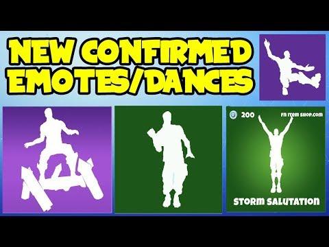 *NEW* Fortnite: SEASON 4 LEAKED/CONFIRMED EMOTES OR DANCES! (In Game Showcase) *New Season 4 Skins*