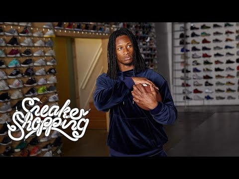Todd Gurley Goes Sneaker Shopping With Complex