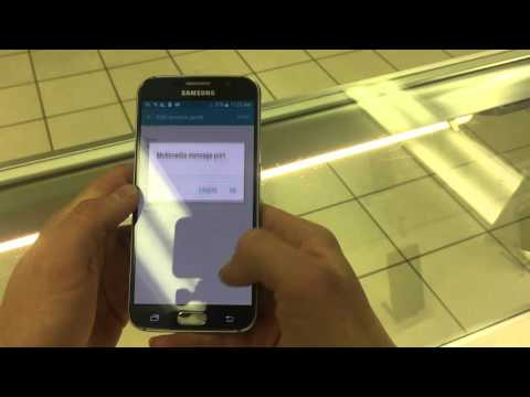 Samsung Galaxy S6 Change APN Settings Cricket MMS, 4G LTE Data, and Picture Messages