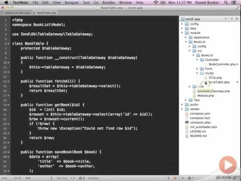 Zend Framework 2 -- 04 10 Demo Finishing the Index Action